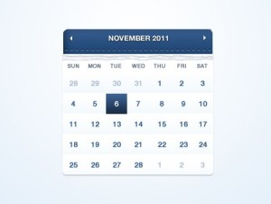 Calendar-PSD