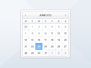 Calendar-PSD-Free-Download