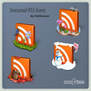 Seasonal-RSS-Icons