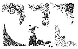 4491-Vector-floral-corners