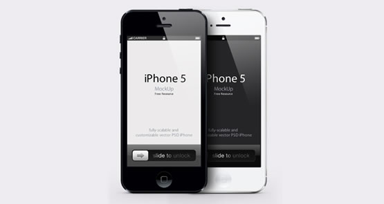 Mockup-psd-iPhone-5-noir-et-blanc