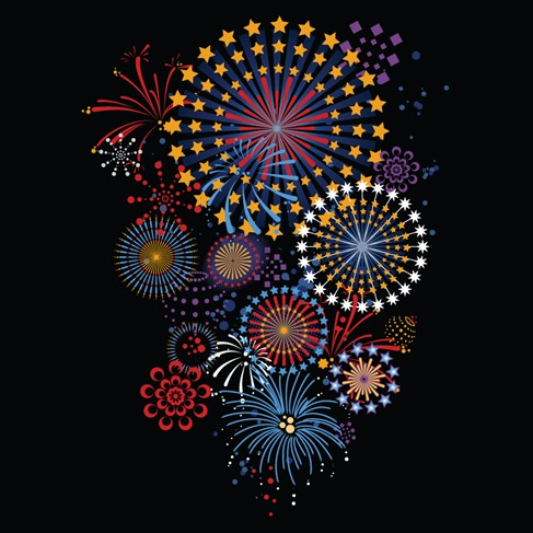 Vectorbrilliantfireworks5