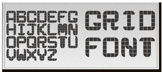 sample_grid_fonts