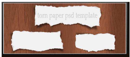 sample_torn-paper-psd-template