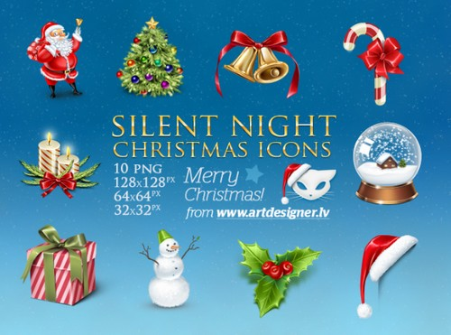 Silent-Night-Free-Icon