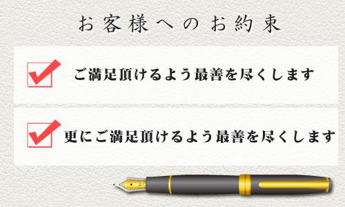 万年筆素材の使用例 - 万年筆入り