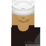 リアルイラスト「コーヒーカップ」