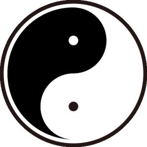 チャイニーズパターン「勾玉」
