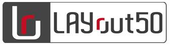 LAYout50のロゴ