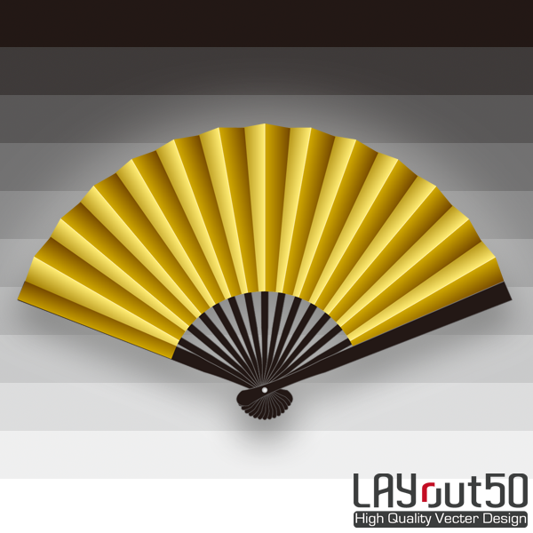 Sample paper fan