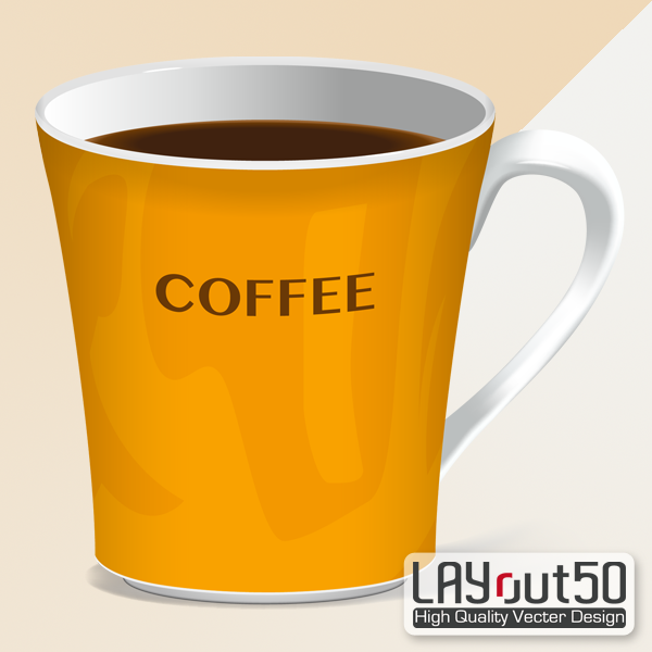 Sample coffee cup